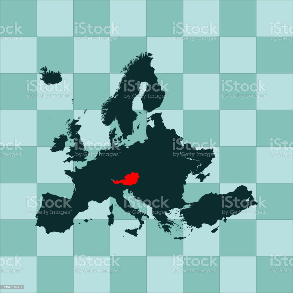 Austria map royalty-free austria map stock vector art & more images of abstract
