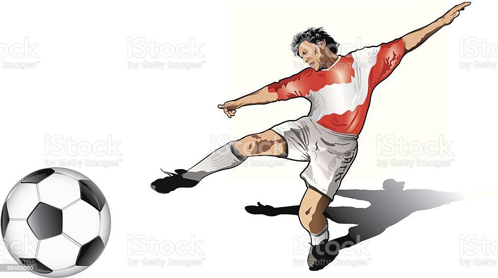 Österreichische soccer player Lizenzfreies Österreichische soccer player stock vektor art und mehr bilder von 25-29 jahre