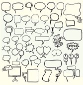 Authenic Speech Balloons - Transparent