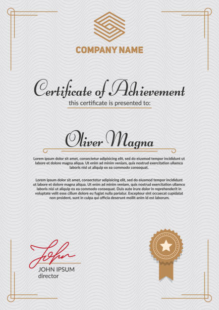 Royalty Free Certificate Of Authenticity Clip Art Vector Images