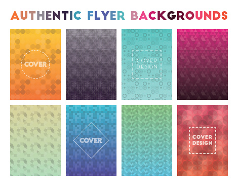 Authentic Flyer Backgrounds.