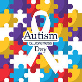 autism awareness day care integration cooperation card