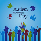 autism awareness day poster creative campaign
