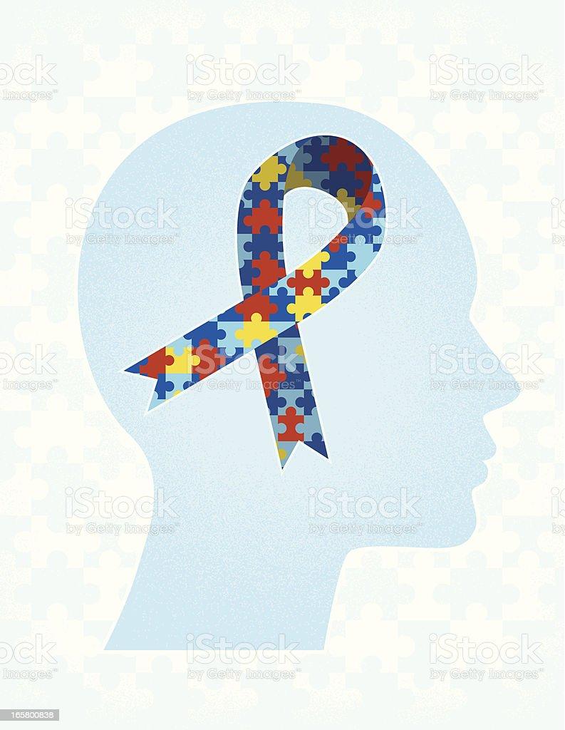 Autism Awareness vector art illustration