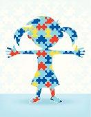 Autism Puzzle Girl