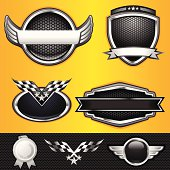 Auto and Race Winner Emblems