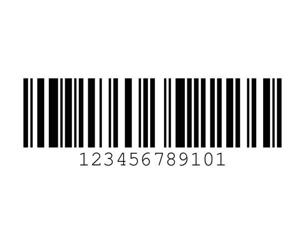 GSI-128 UCC EAN-128 Auto Barcode Standards vector art illustration