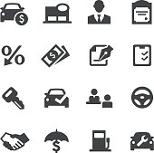 Auto Dealership Icons - Acme Series