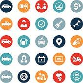 Auto Dealership Icons
