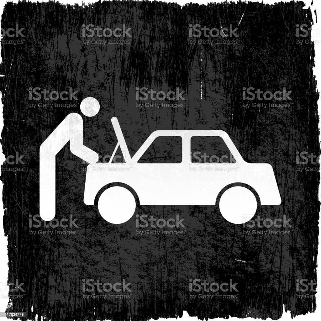 auto mechanic on royalty free vector Background royalty-free auto mechanic on royalty free vector background stock vector art & more images of auto mechanic