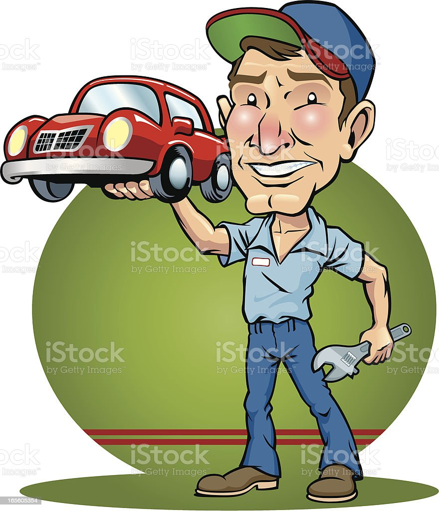 Auto Mechanic royalty-free auto mechanic stock vector art & more images of auto mechanic