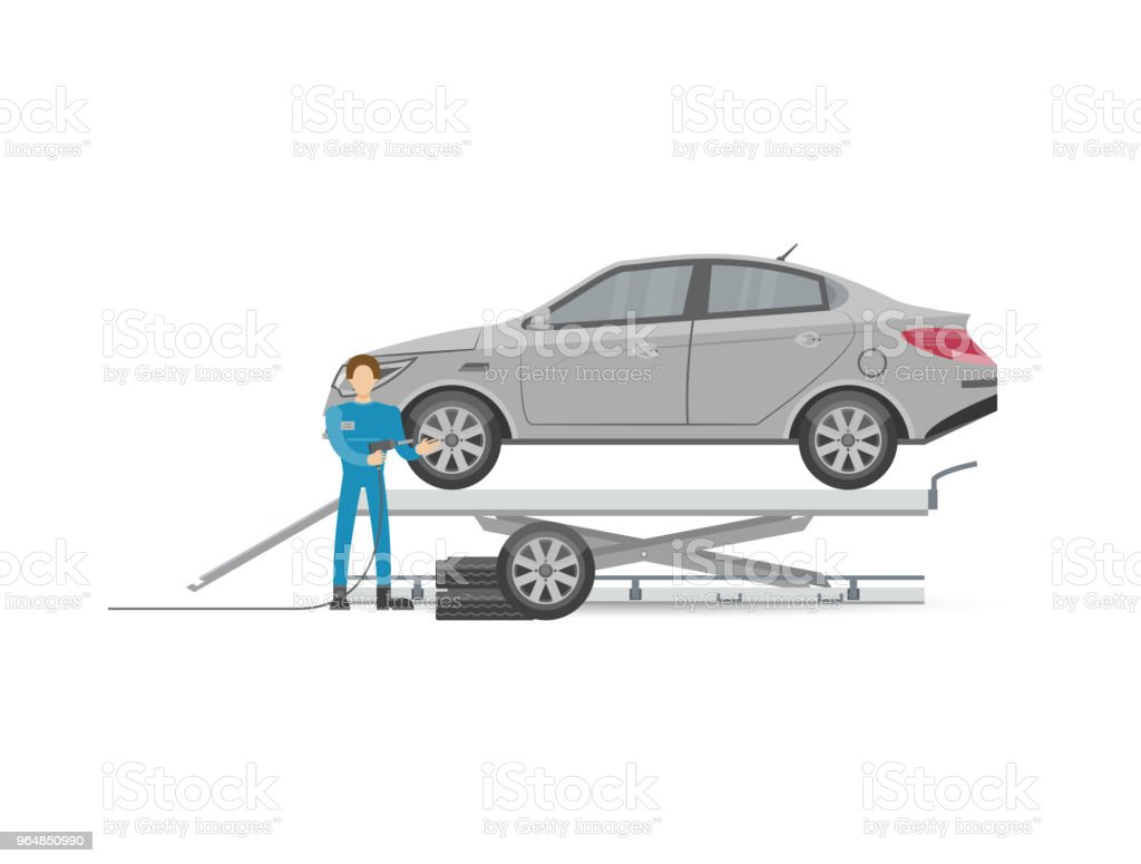 Auto mechanics in uniform icon royalty-free auto mechanics in uniform icon stock vector art & more images of adult