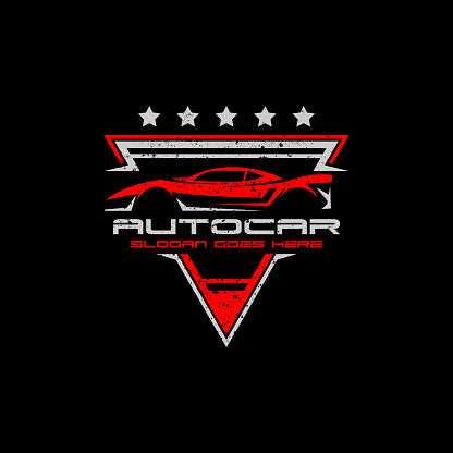 Auto Modification car logo premium vector illustration, best for automotive logo template