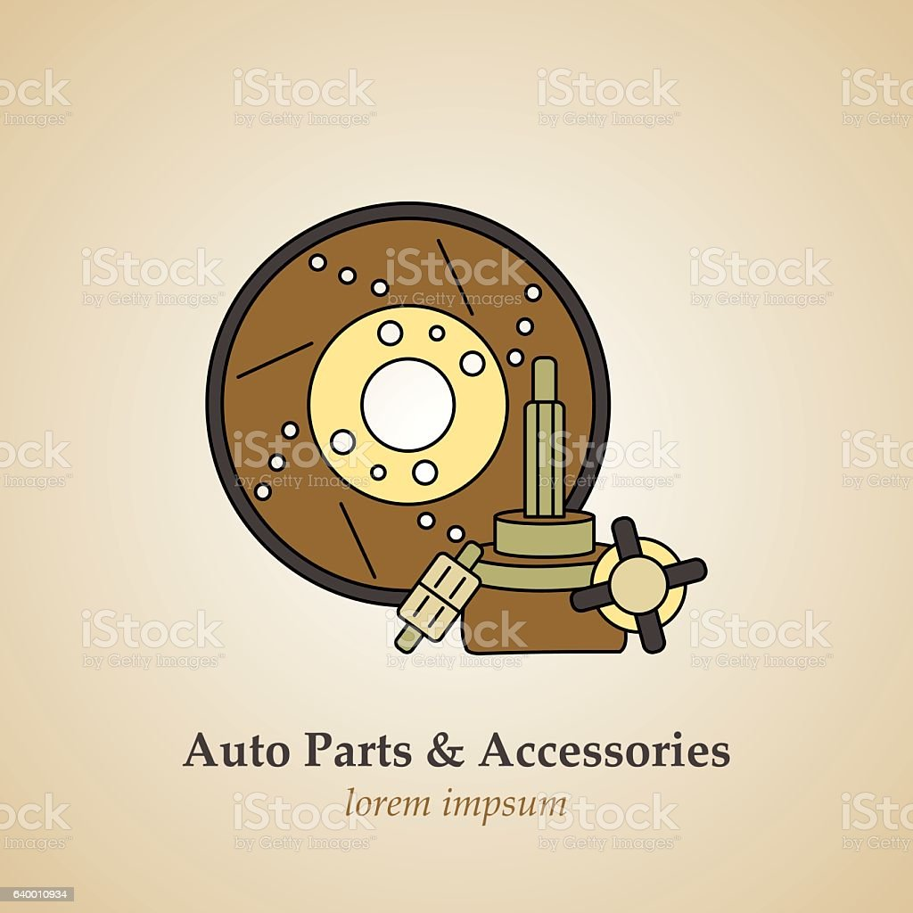 Auto parts and accessories.