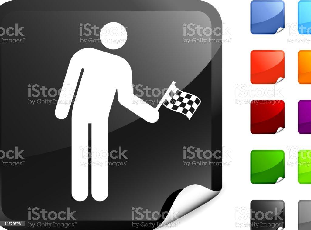 auto racing finish line internet royalty free vector art royalty-free stock vector art