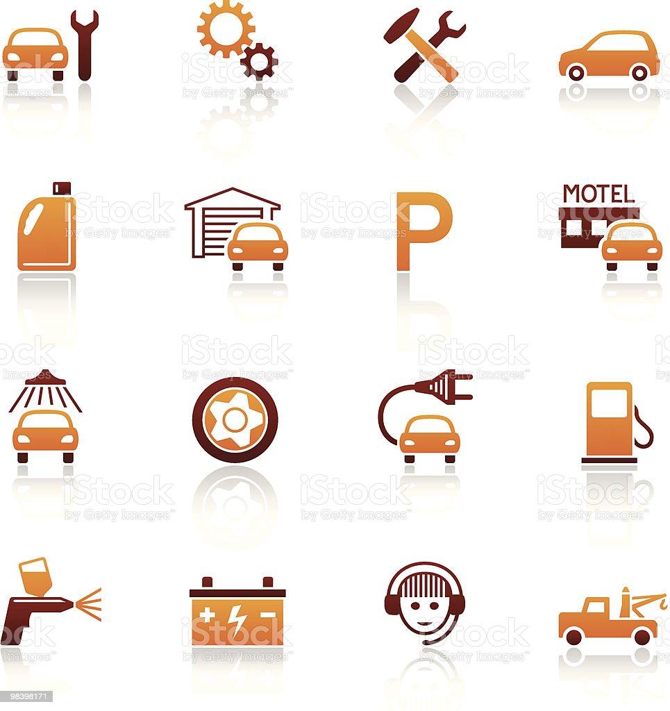자동 서비스 및 자동차모드 수리하다 벡터 아이콘 세트 royalty-free 자동 서비스 및 자동차모드 수리하다 벡터 아이콘 세트 가솔린에 대한 스톡 벡터 아트 및 기타 이미지