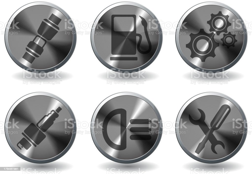 Auto Service Icons royalty-free auto service icons stock vector art & more images of auto mechanic