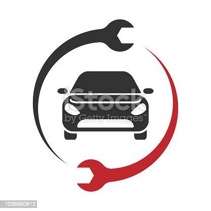 Auto Service Logo. Car repair icon. EPS 10