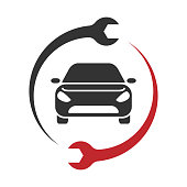 Auto Service Logo. Car repair icon. EPS 10