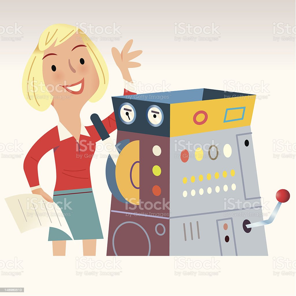 Automated Delivery royalty-free automated delivery stock vector art & more images of adult