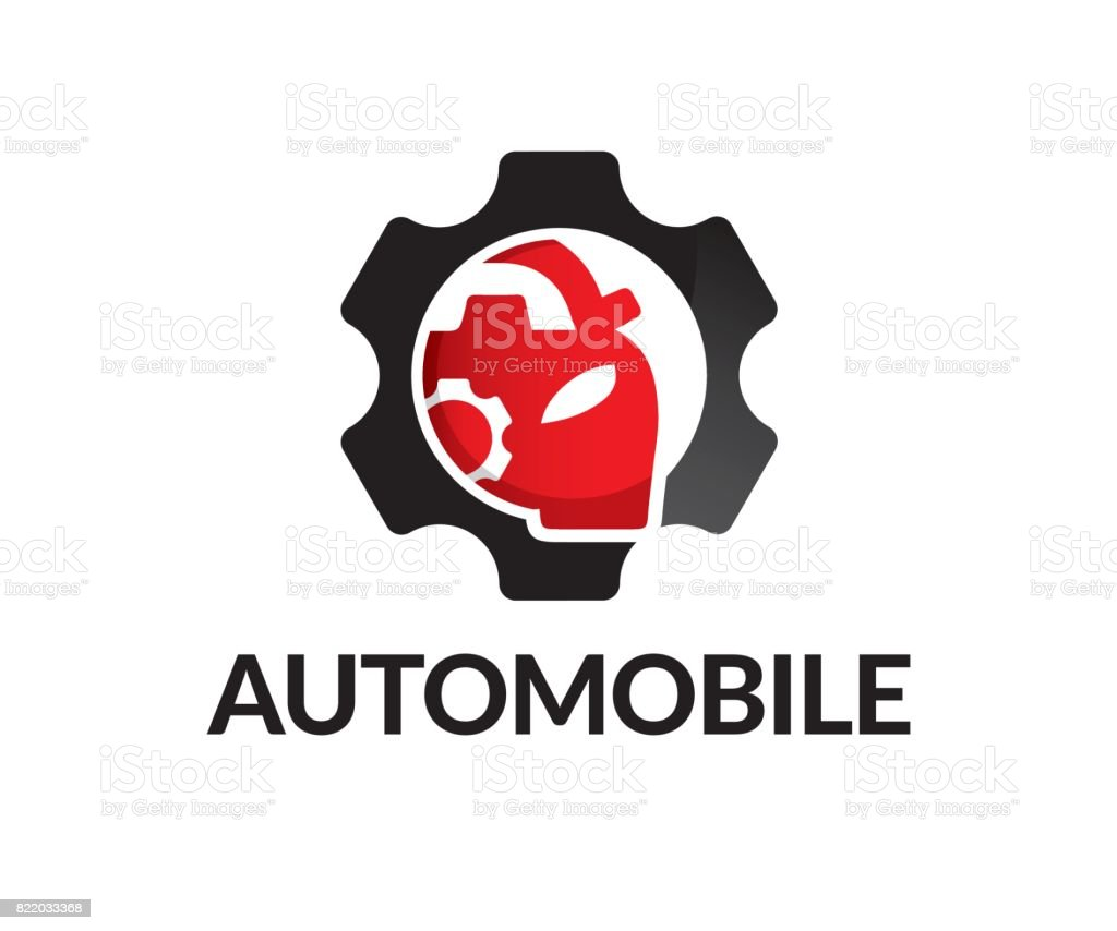 Automobile vector icon vector art illustration