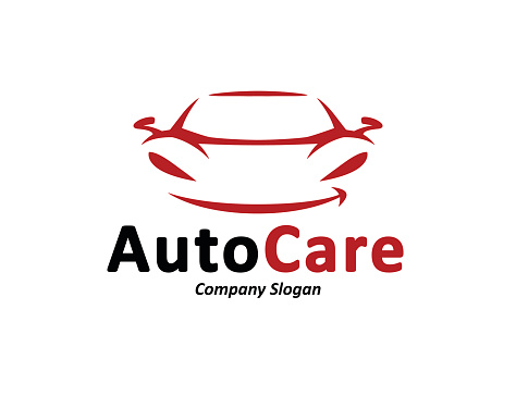 Automotive Car Logo Design With Abstract Sports Vehicle ...