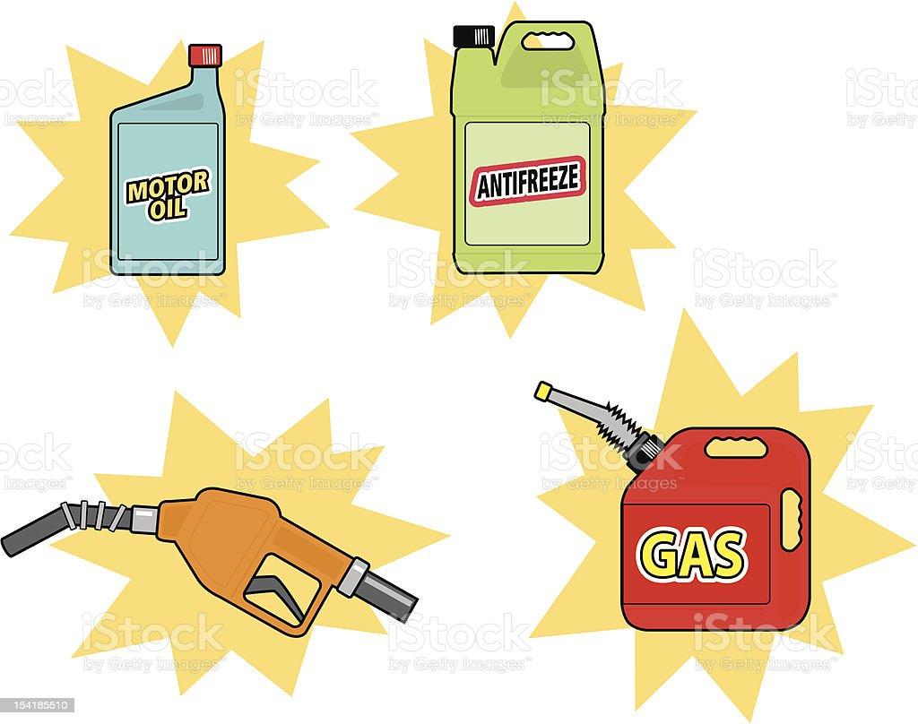 Automotive Fluids royalty-free automotive fluids stock vector art & more images of bottle