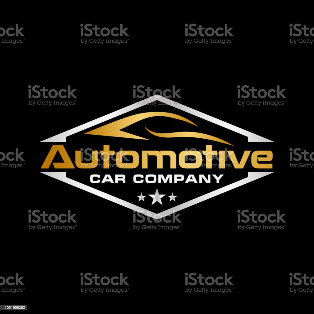 Automotive logo icon design illustration template