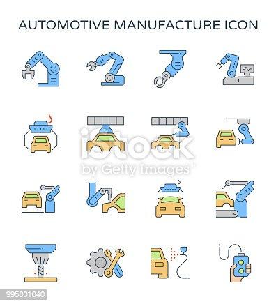 istock automotive manufacturing icon 995801040
