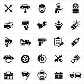 Automotive Repair Icons