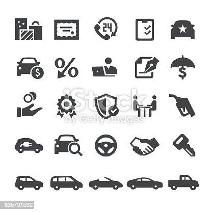Automotive Sales Icons
