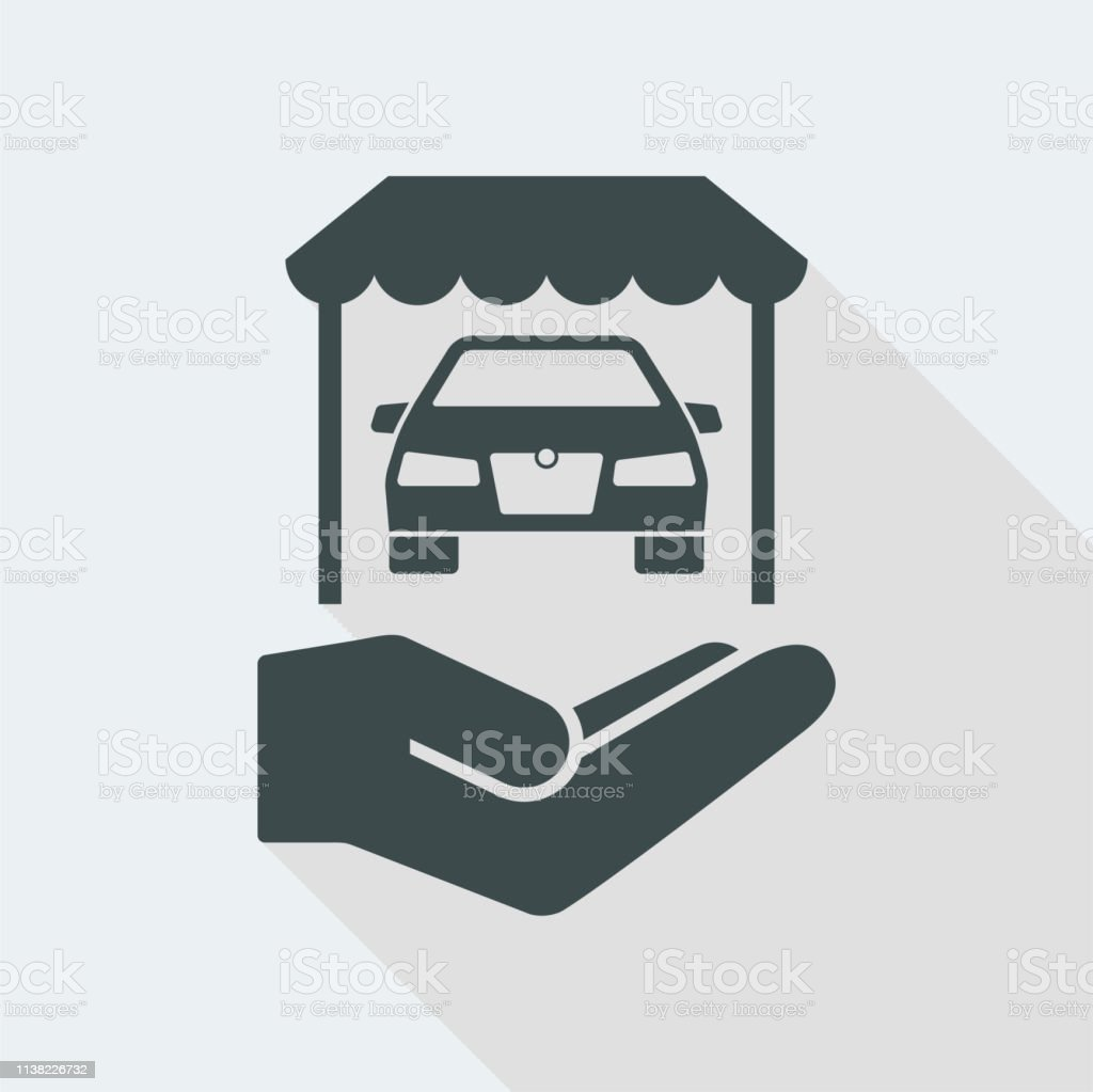 Superb Automotive Showroom Services Icon Stock Illustration Download Free Architecture Designs Scobabritishbridgeorg