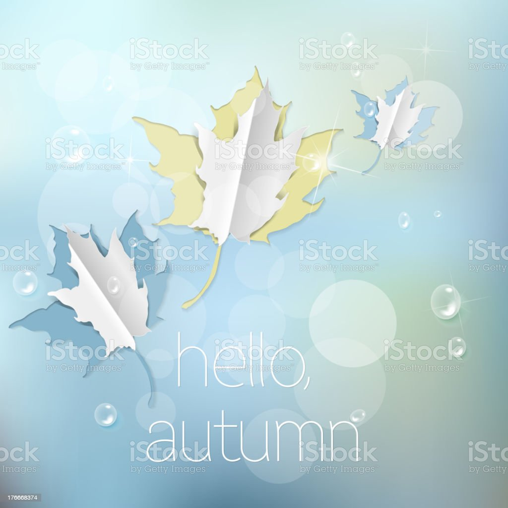Autumn abstract nature background royalty-free autumn abstract nature background stock vector art & more images of abstract