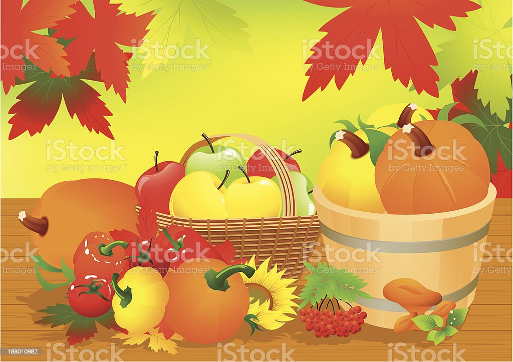 Autumn abundance royalty-free autumn abundance stock vector art & more images of abundance