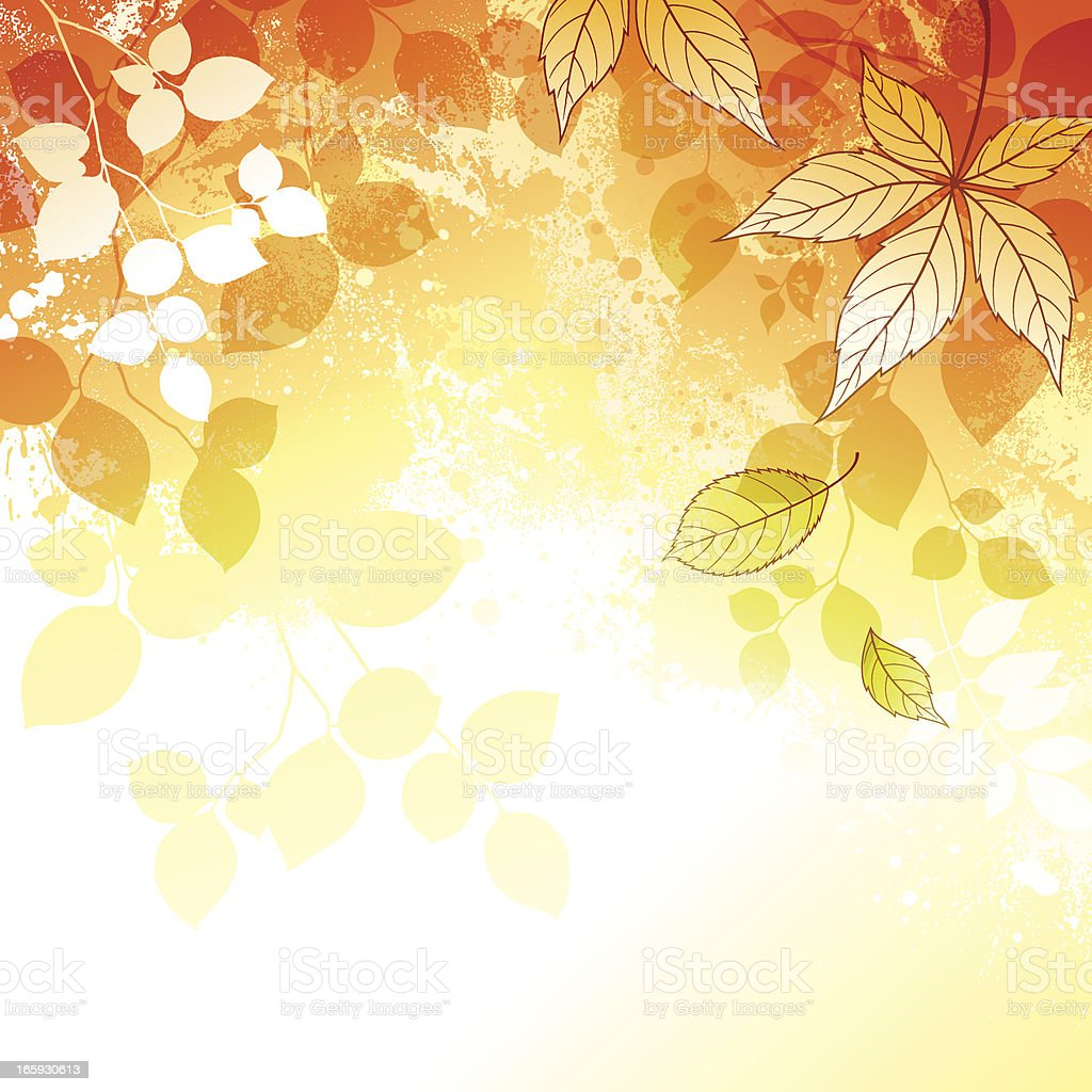 Autumn Background royalty-free stock vector art