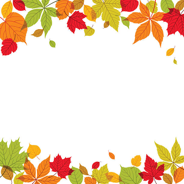 Autumn Background Autumn background with copt space. EPS10 file contains transparencies.  Global colors used. Additional AI10 file with whole shapes and hi res jpeg included. Scroll down to see more of my illustrations. autumn borders stock illustrations
