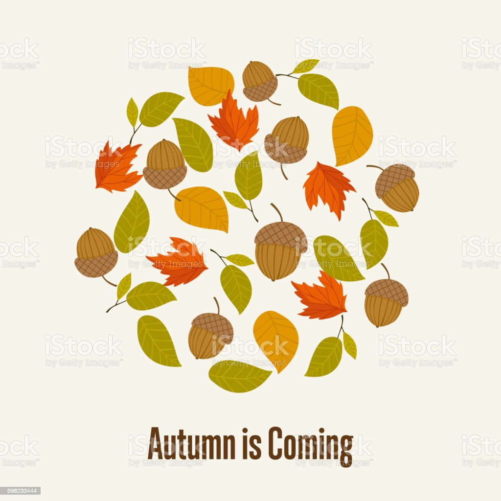 Autumn background vector illustration ilustração de autumn background vector illustration e mais banco de imagens de abstrato royalty-free