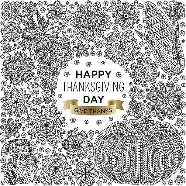 autumn background with creative vegetables and flowers - gehäkelte lebensmittel stock-grafiken, -clipart, -cartoons und -symbole