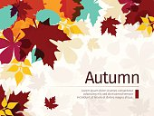 istock Autumn Background with Leaves 585328830
