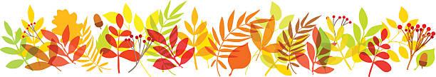 秋の葉のバックグラウンド - 休日/季節ごとのイベント点のイラスト素材/クリップアート素材/マンガ素材/アイコン素材