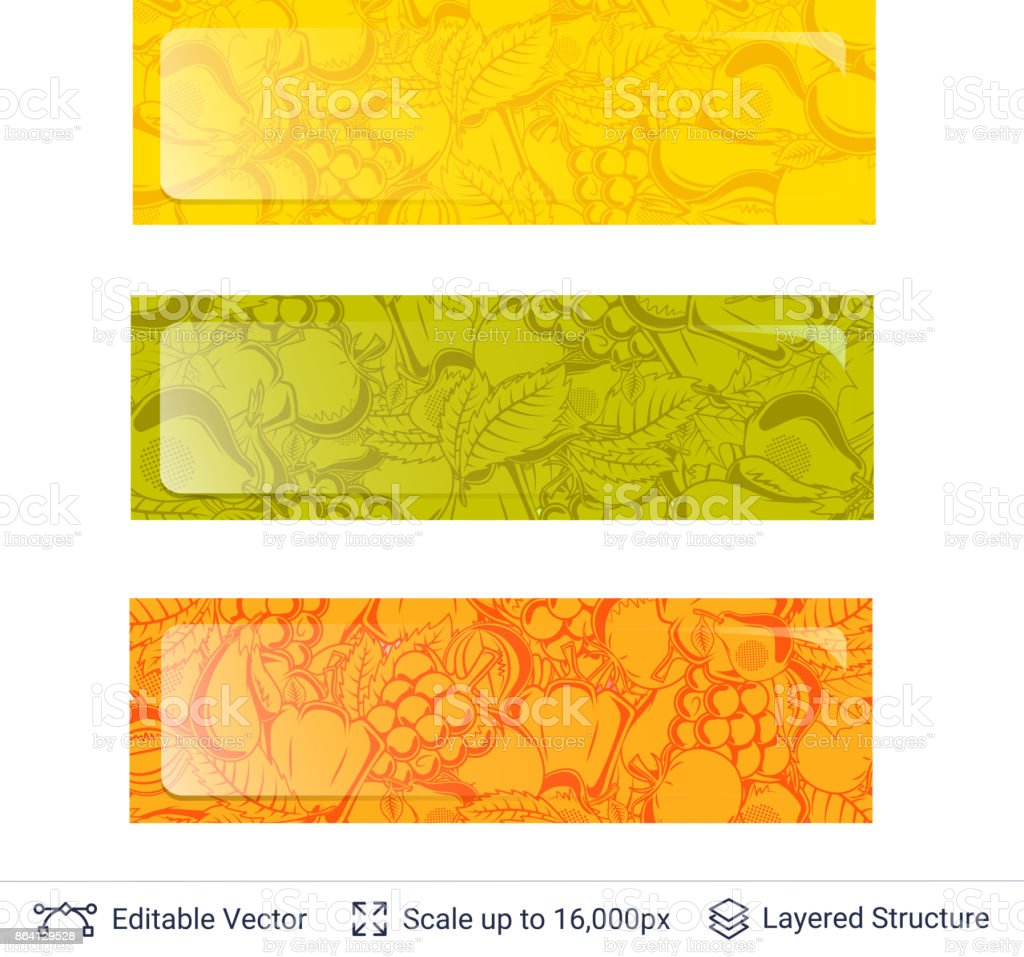 Autumn banner template. royalty-free autumn banner template stock vector art & more images of abstract