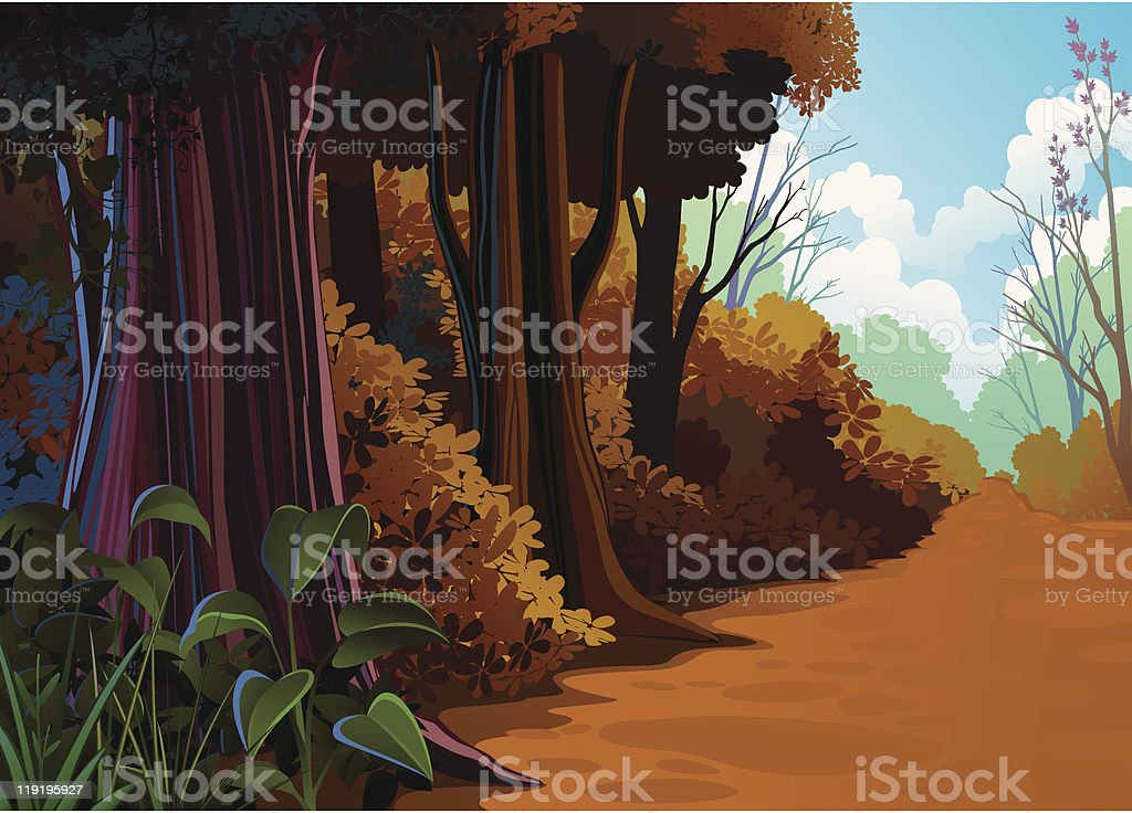 Autumn Banner royalty-free stock vector art