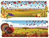 Autumn Banner/Fall Leaves/thanksgiving...