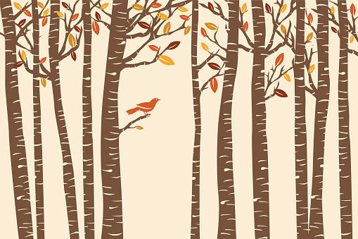 Autumn Bird Perch