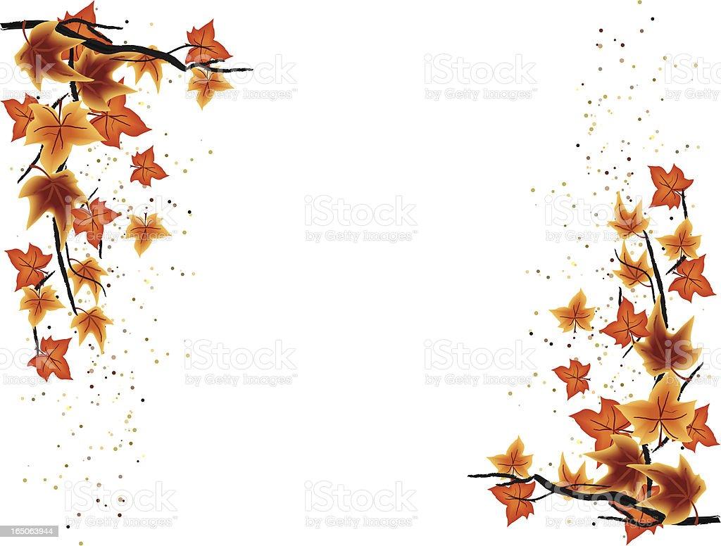 Autumn Borders stock vector art 165063944 | iStock