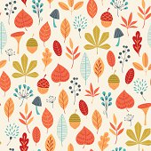Autumn colors pattern
