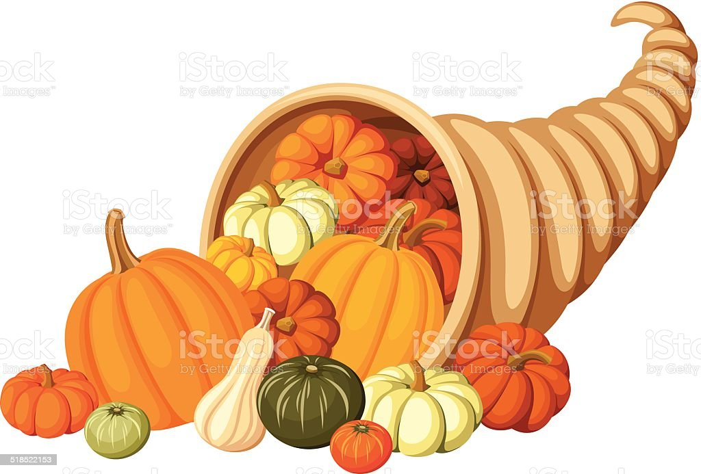 royalty free cornucopia clip art vector images illustrations istock rh istockphoto com free clipart cornucopia thanksgiving clip art cornucopia filled with canned food