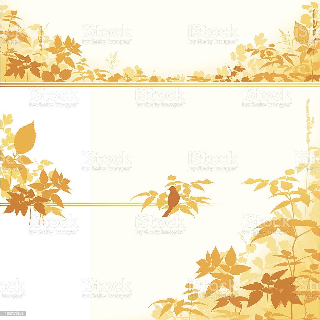 Autumn Design Collection royalty-free stock vector art