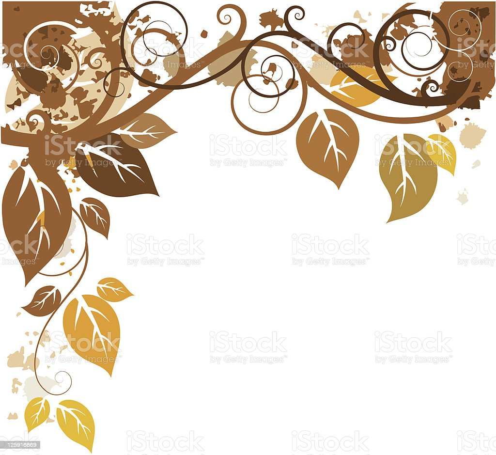 Autumn design vector art illustration