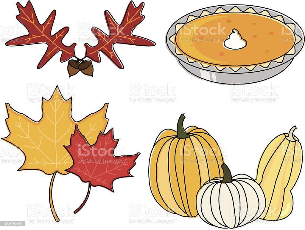 Autumn Essentials royalty-free autumn essentials stock vector art & more images of acorn